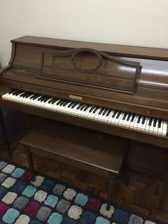 vintage made in USA Baldwin piano