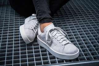 <Adidas Stan Smith Bold - Grey> CG3776