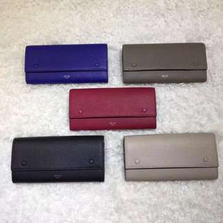 Celine long pocket wallet
