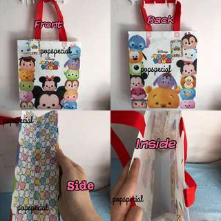 Last PCS Left Disney Tsum Tsum Recycle Carrier Tote Bag