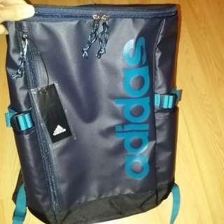 (實物藍好靚)全新正版Adidas 防水  藍色 背囊 背包 限量特別版