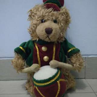 Boneka Bear Beruang Drum Band