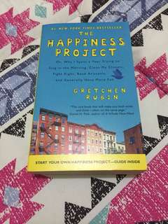 📖 The Happiness Project 📖