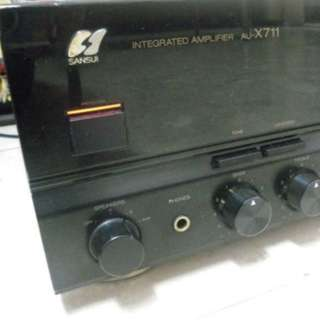 Sansui AU-X711 Integrated Amplifier