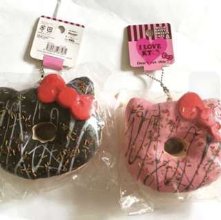 hello kitty doughnut squishy
