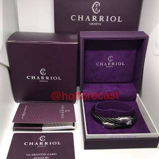 Sale Bnew Authentic Charriol Bangle Celtic Olive - Black