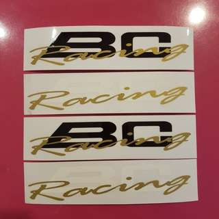 BC Racing Decal