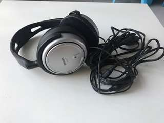philips headphone with 6m long cable