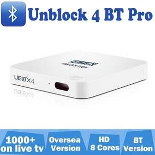 UBOX4 TV BOX INSTOCK!1 YEAR Warranty