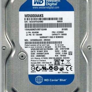 WD blue 500