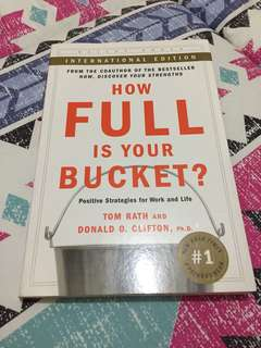 📖 How Full is Your Bucket? - Positive Strategies for Work and Life