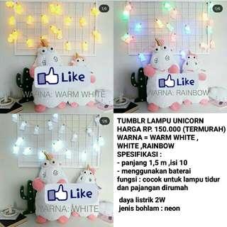Tumblr lampu unicorn