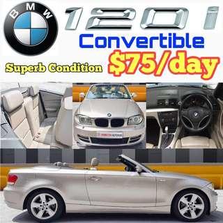 BMW 120i Cabriolet Convertible Sport ✨Estima