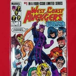 West Coast Avengers #1-4