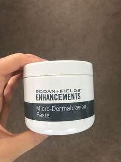 Microdermabrasion paste