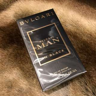 🔴Bvlgari Man In Black EDP Perfume