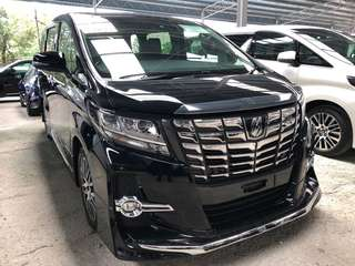 Toyota alphard 2.5 sc package FULLEST SPEC
