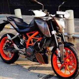 Motorbike sticker wrap