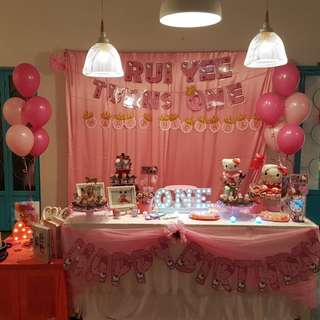 For rent - Birthday decoration / Candy table