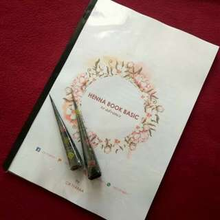 Henna Practice BOOK