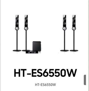 Samsung home theatre Speakers only (4 tall boys, centre and woofer)