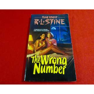 The Wrong Number by R. L. Stine