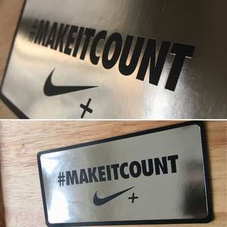 ✔️100% Authentic NIKE Stickers😎