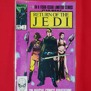 Star Wars: Return of the Jedi #1-4