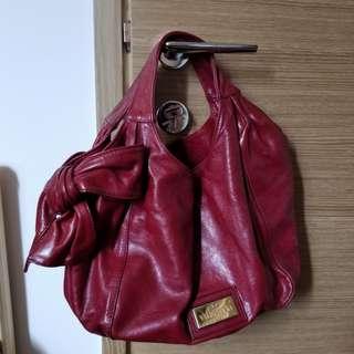 Valentine signature bow handbag