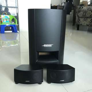 Bose Cinemate GS series II Digital Home theatre system