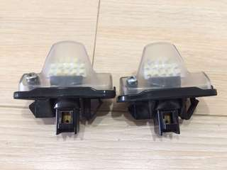 Toyota passo Sette led rear license plate light