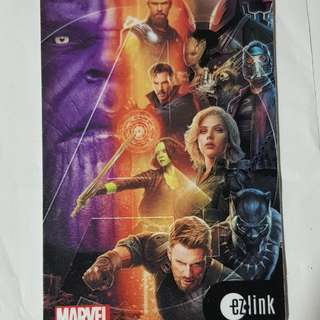 Brand New Marvel Infinity War Ezlink Card