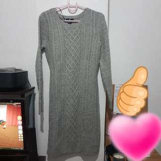 Knitted Dress H&M