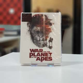 War for the Planet of the Apes - Steelbook 4K UHD + 2D