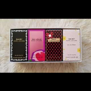 Marc Jacobs perfume set