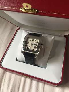 Cartier watch Santos 100