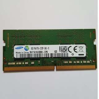 8GB DDR4 2133MHZ SODIMM Laptop RAM