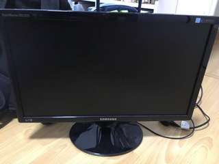 "19"" Samsung Monitor Wide Screen"