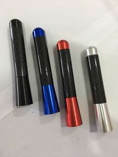 3 Inch Real Carbon Fiber Car Antenna