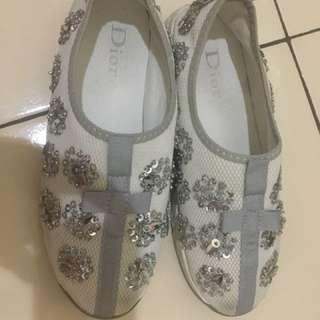 Dior Shoes - White (Premium Quality)
