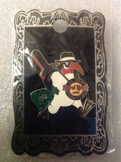 Hard Rock Cafe Pins - LAS VEGAS HOT 2011 PINSANITY # 7 PENGUIN GANGSTER PIN!