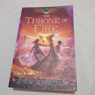 Throne of Fire