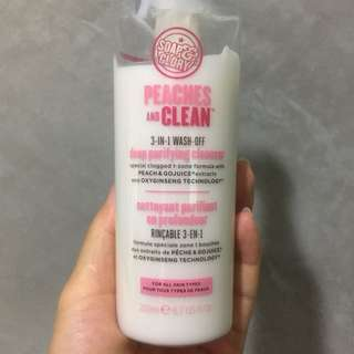 Soap & Glory Soap And Glory Peaches And Clean 3 In 1 Wash Off Deep Purifying Cleanser