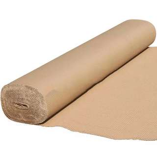 corrugated paper board for floor protection