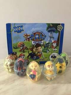 Goodie bag - paw patrol surprise egg