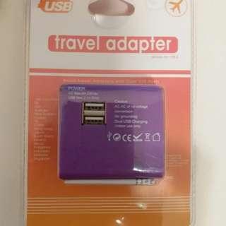 全新 Travel adapter