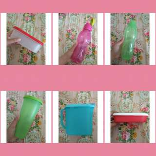 OBRAL PRELOVED TUPPERWARE