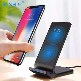 Wireless Charger For iPhone X 8 Plus Fast Charging Holder For Samsung S8 Plus S7 S6 edge Note 8 Phone Fast Charger