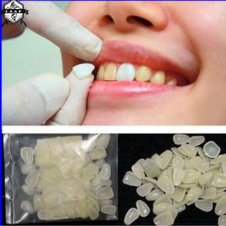 70pcs Dental Whitening Veneers Resin Teeth Shade Anterior