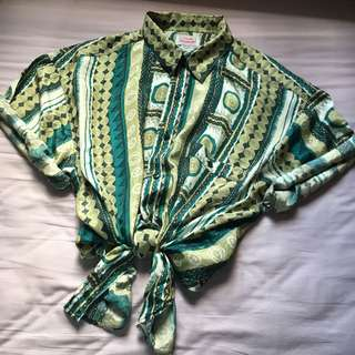 Vintage 100% Silk Hawaii Shirt